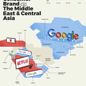 Obrázek 'Most popular consumer brand Middle East and Central Asia'