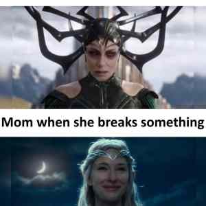 Obrázek 'mom when i break something'