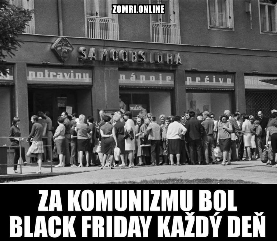 Obrázek Blackfridayzasocialismu