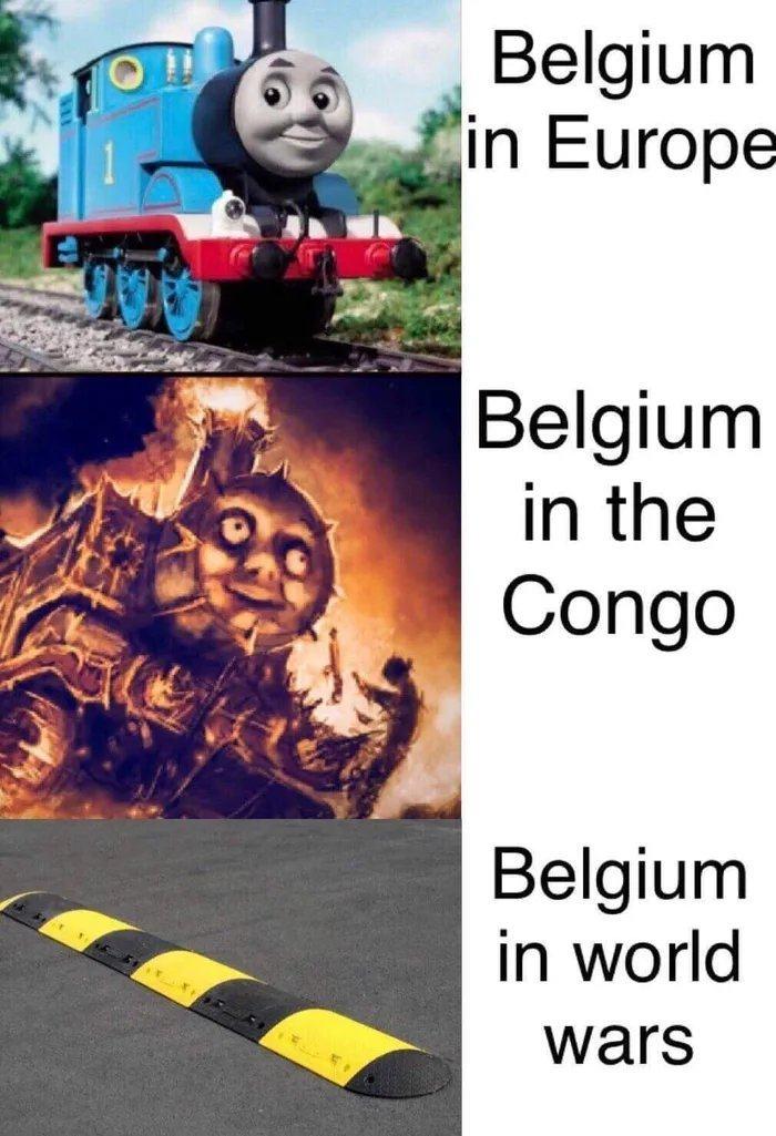 Obrázek Bongo-bongo-bongo-the-Belgians-in-the-Congo
