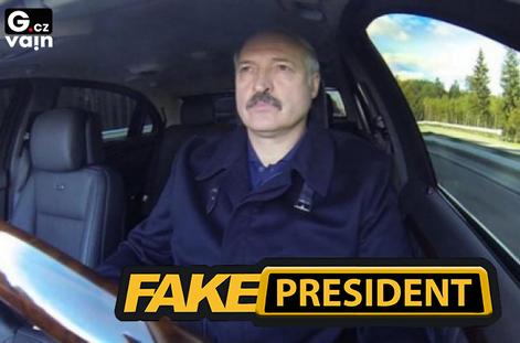 Obrázek Fakepresident