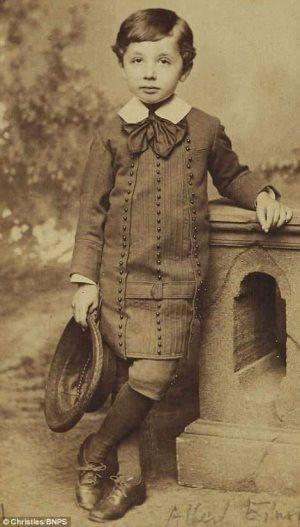 Obrázek Five-year-oldAlbertEinstein
