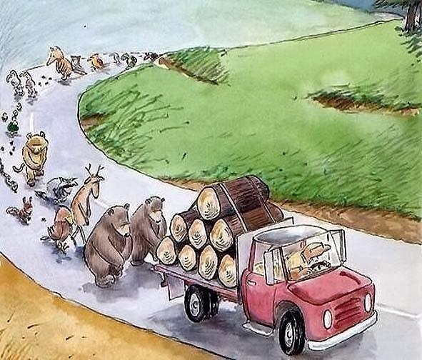 Obrázek Funnyprocession