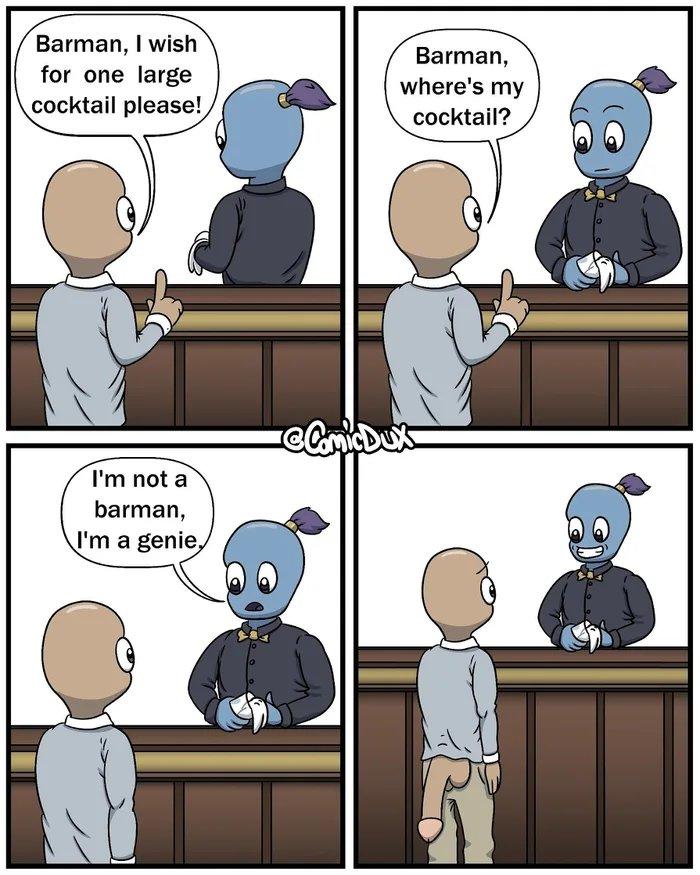 Obrázek Genie-Barman---Cock-tail