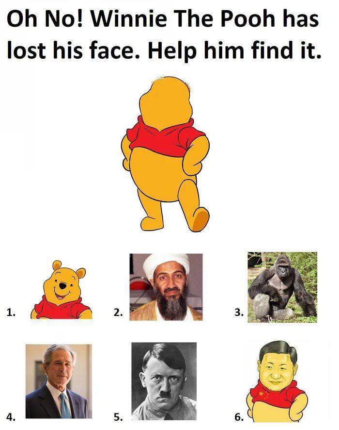 Obrázek Help-Winnie-liberate-Hong-Kong
