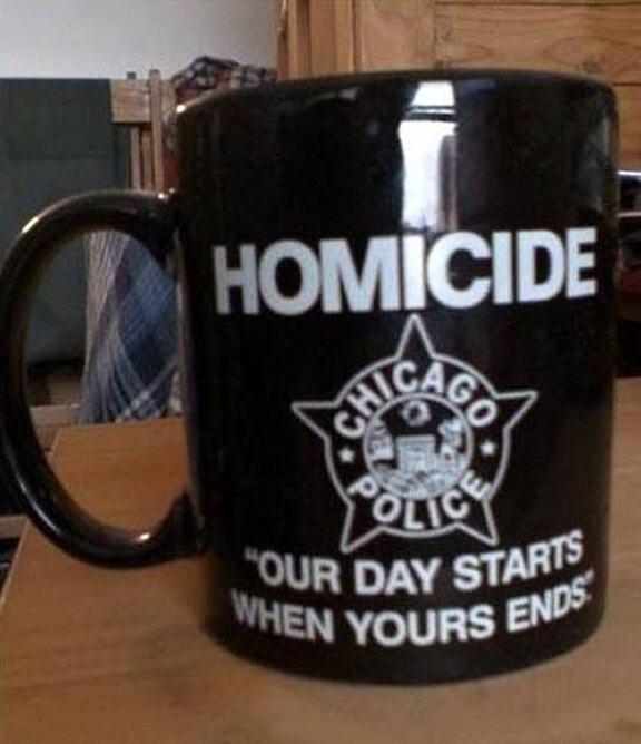 Obrázek HomicideDeptMug