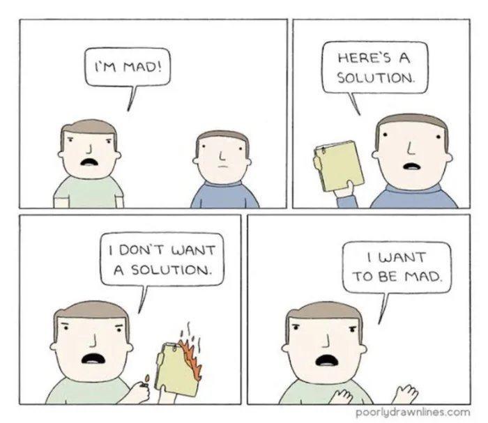 Obrázek I-dont-wanna-solution-I-am-mad