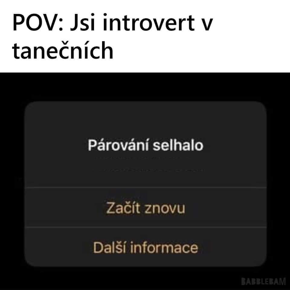Obrázek Introvertvtanecnich