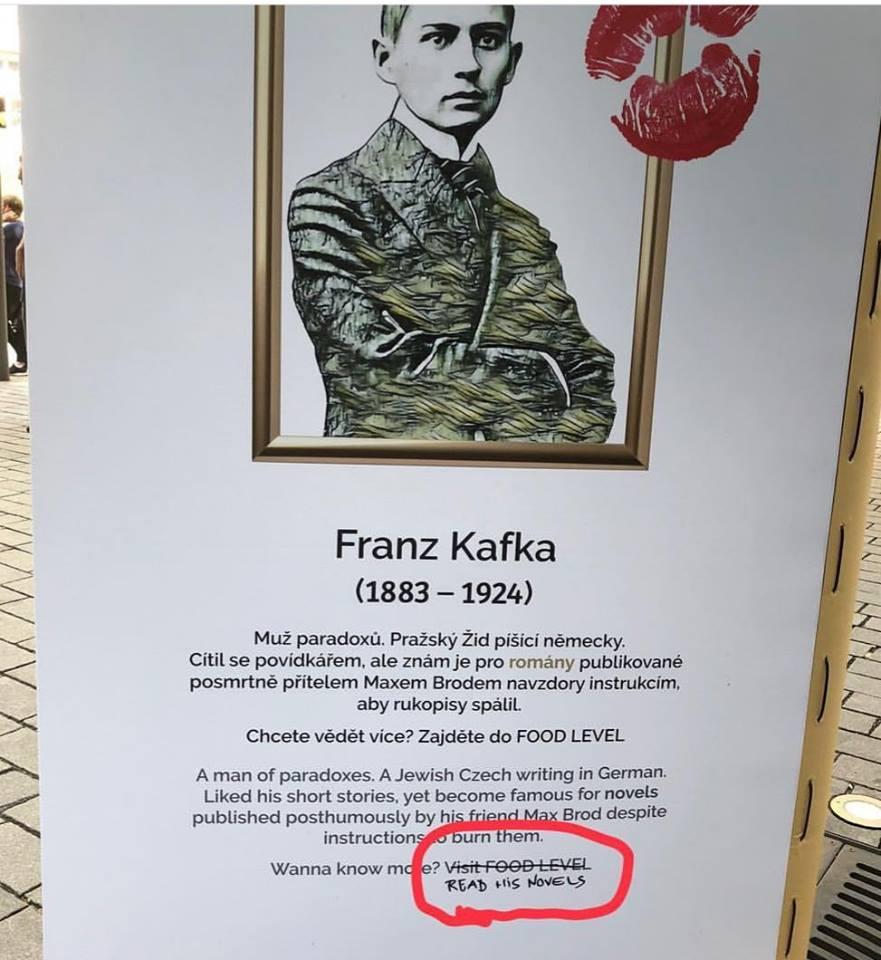 Obrázek Kafka