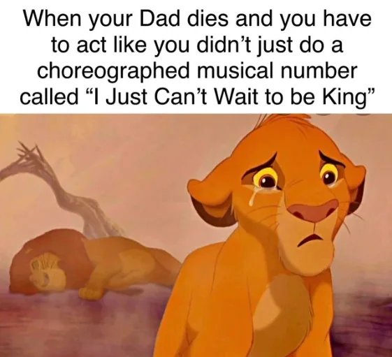Obrázek Lets-be-real-here-Simba