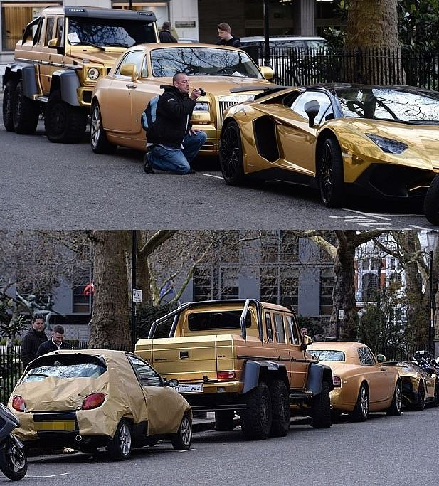 Obrázek Luxurygoldcars