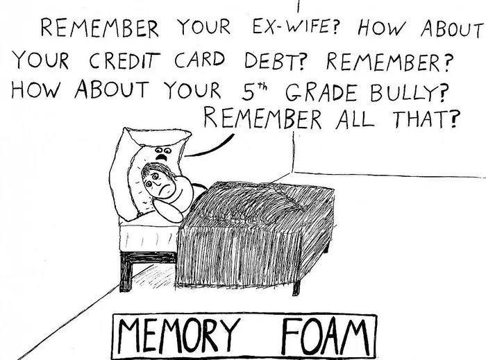 Obrázek Memory-foam