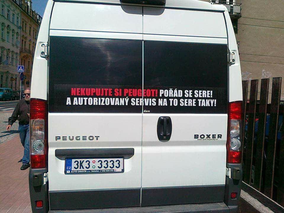 Obrázek Peugeot-Reklama