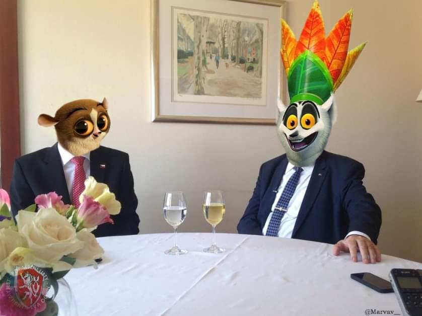 Obrázek Projevprezidentasvernymmluvcim