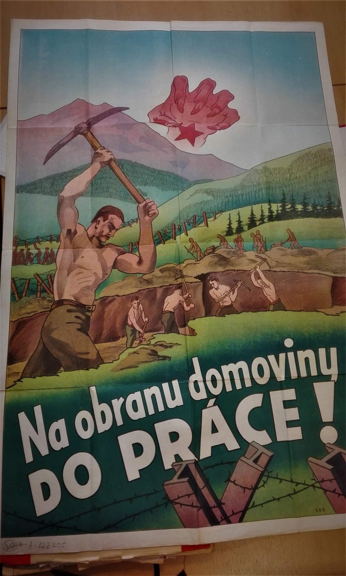 Obrázek Protektoratnipropagandistickyplakatcca1944