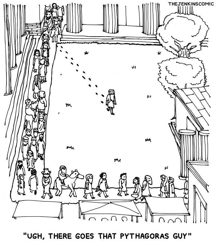 Obrázek Pythagorus
