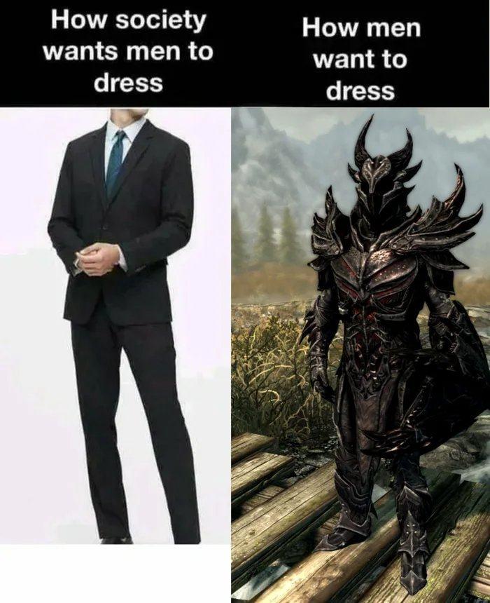 Obrázek The-good-old-Daedric-Armor