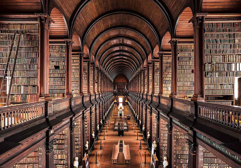Obrázek Trinity-College-Library-Dublin