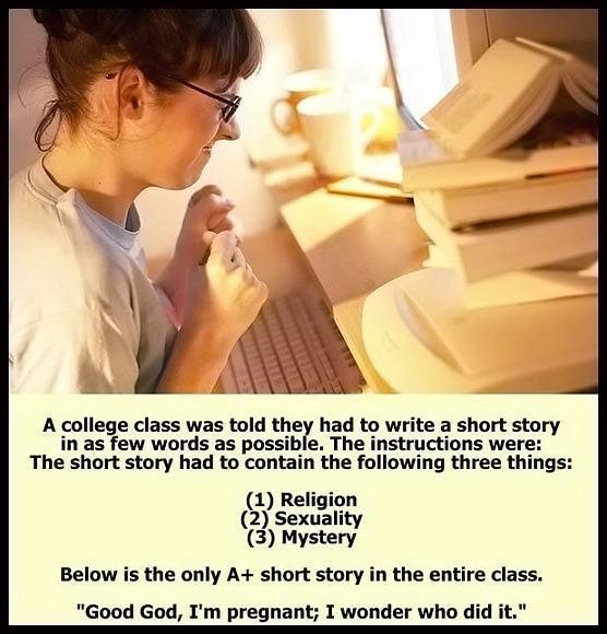 Obrázek Write-a-short-story-message