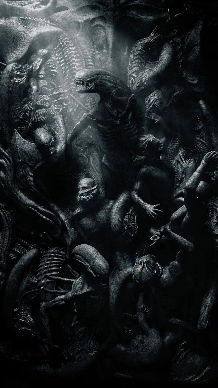 Obrázek Xenomorph--endoparasitoid-extraterrestrial-species