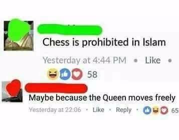 Obrázek chessisprohibitedbyislam