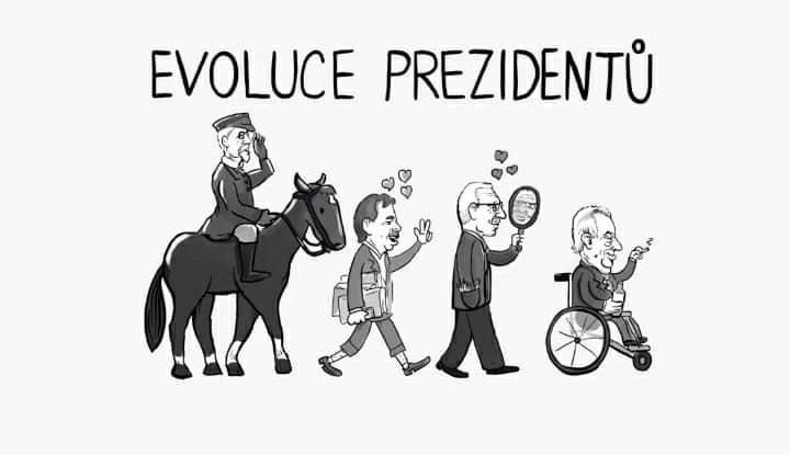 Obrázek evoluceprezidentu