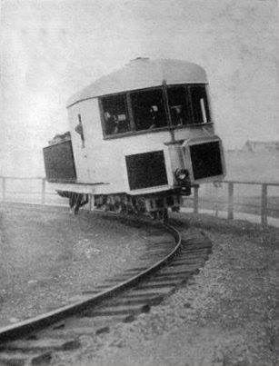 Obrázek gyroskopickyvyvazenajednokolejka1909