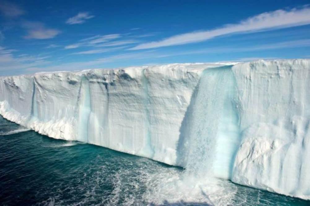 Obrázek ledovodopad