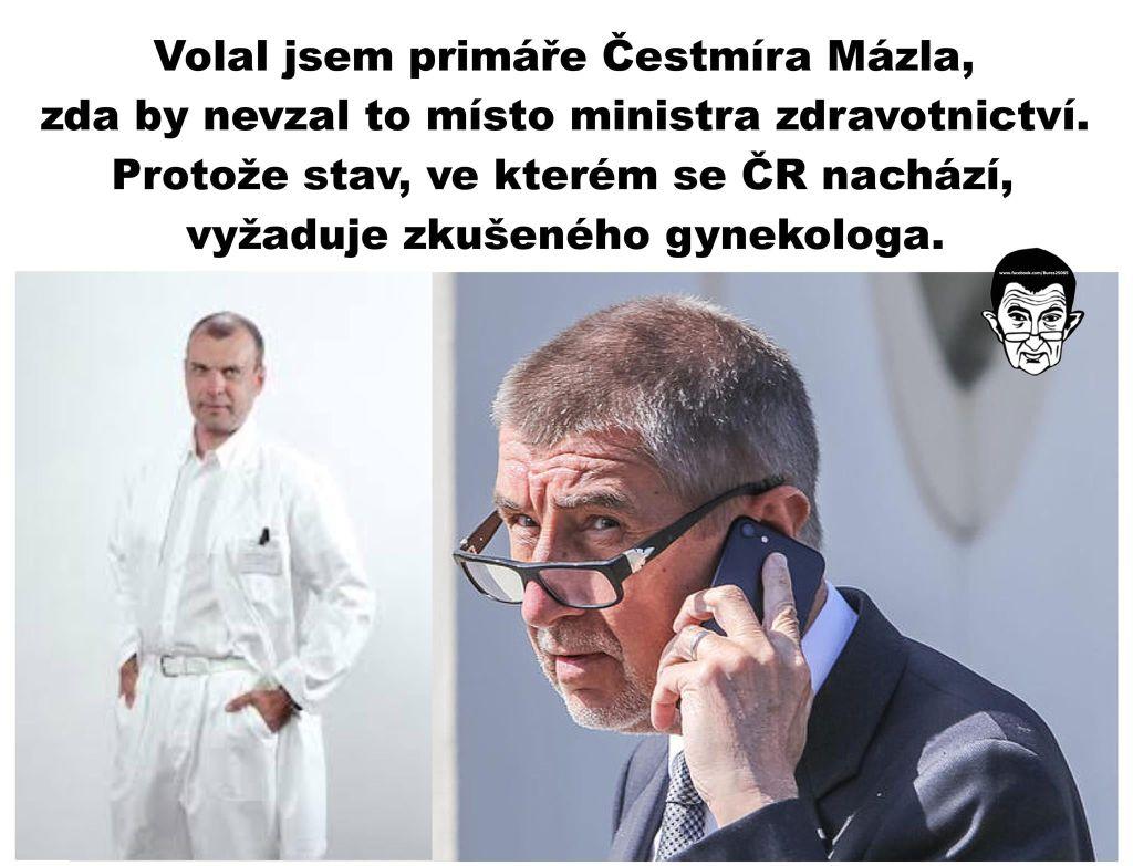 Obrázek ministrzdravotnictviprostavajicistavcr