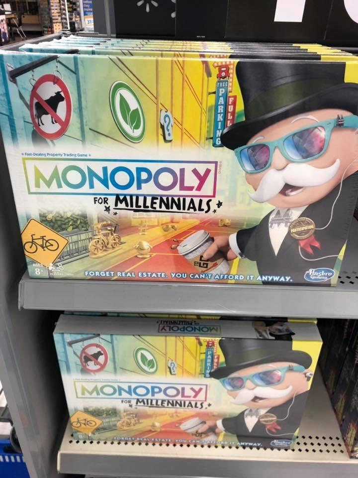 Obrázek monopolyformillennials