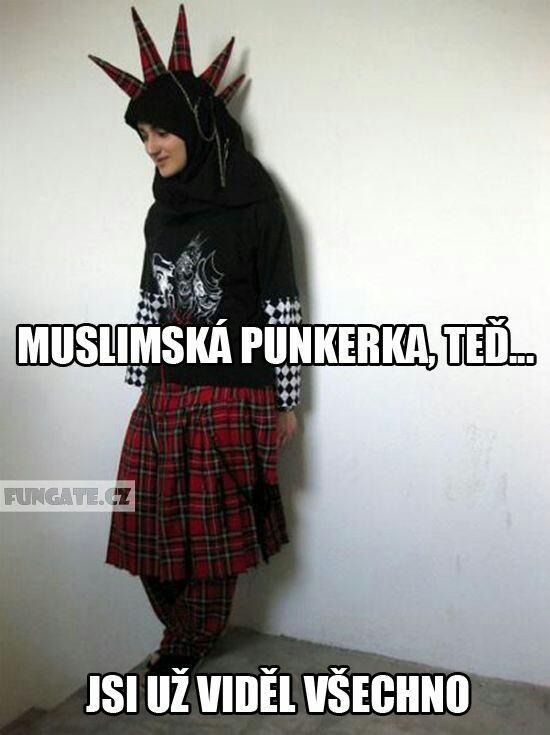 Obrázek muslimskapunkerka
