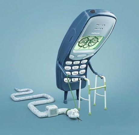 Obrázek oldphone