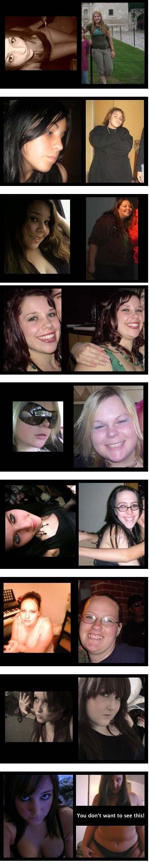 Obrázek profilnaFacebookuverzusrealita