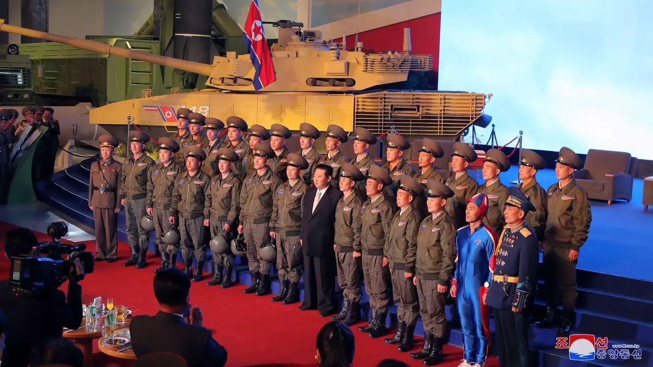 Obrázek severokorejskejakcnihrdina