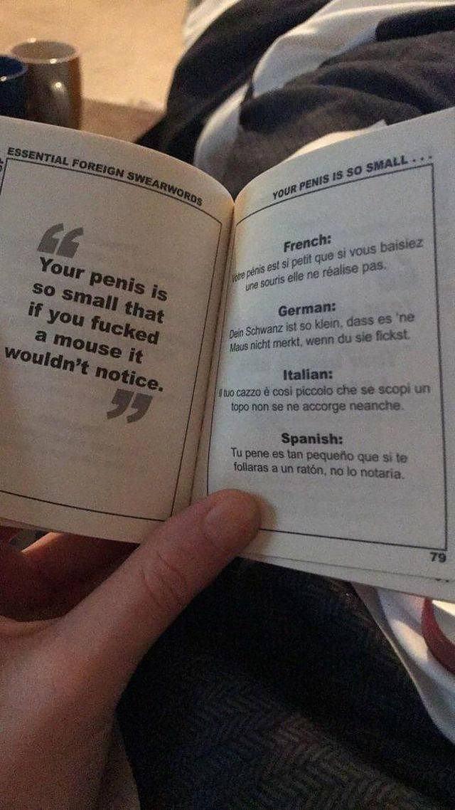 Penis ist klein