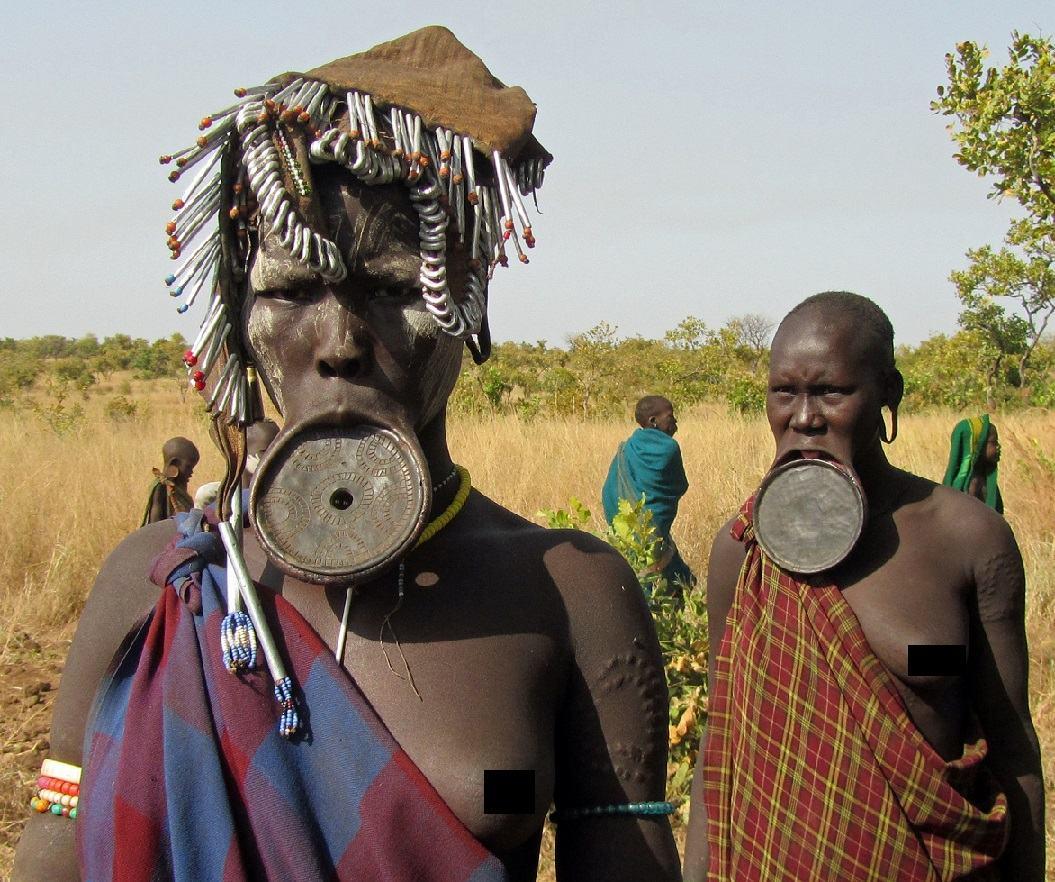 Obrázek tribal-people-mursi-ethiopia