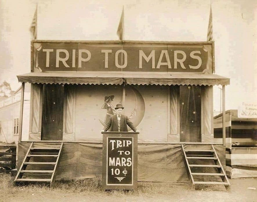 Obrázek trip to mars before it was cool