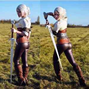 Obrázek 'Ciri-Cosplay-by-Evenink-The-Witcher-3'