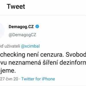 Obrázek 'Demagogcznetusicojesvobodaslova'