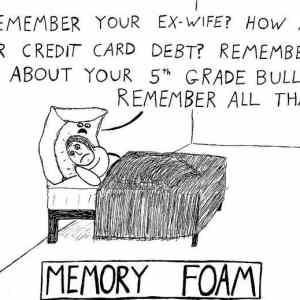 Obrázek 'Memory-foam'
