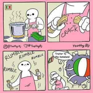 Obrázek 'Pasta-la-vista-traditore'