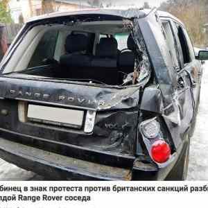 Obrázek 'Rusakrozmlatilsousedoviautonaprotestprotisankcim'