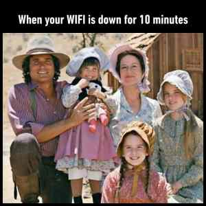 Obrázek 'When You Wifi Is Down For 10 Minutes'