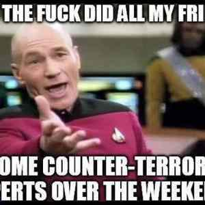 my facebook feed ever since the paris attack ha...