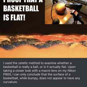 Ball is flat
