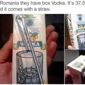 Boxed Vodka