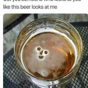 Happy beer