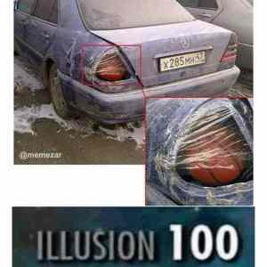 Illusion over 100