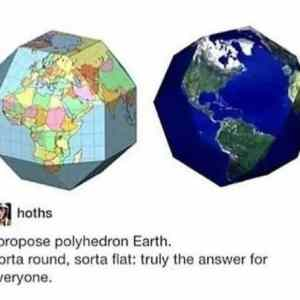 Polyhedron Earth