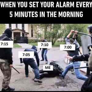 The ALARM In The Morning